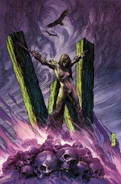 Marc Silvestri - Witchblade - Uncanny X Men #251 Wolverine cover homage