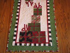 Christmas Gift Table Runner