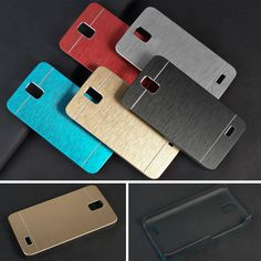 Luxury Metal Cases For Lenovo A328 A 328 A328T Hard Brushed Metal Aluminium + PC material Back phone case cover
