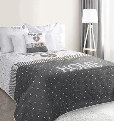 prešívaný prehoz na posteľ – Jarka.sk | móda • štýl • potešenie Comforters, Blanket, Home, Creature Comforts, Quilts, Ad Home, Blankets, Homes, Cover