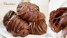 Chocolate Croissant🇺🇸🇫🇷Chocolatine – Bruno Albouze Pastry Recipes, Cooking Recipes, Bread Recipes, Running Food, Homemade Croissants, Croissant Dough, Cocoa Nibs, Danishes, Crescent Rolls