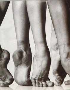 Gorgeous dancer feet: