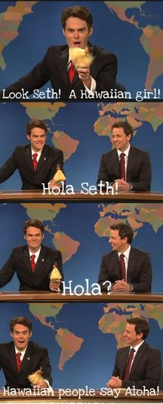 Saturday Nigh Live- 2 of the funniest guys on SNL