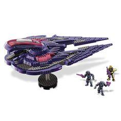 Mega Bloks Halo Covenant Seraph Construction Vehicle