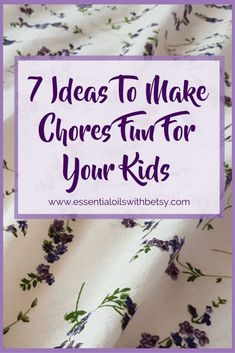 Most of us have young or elementary school-aged children who will be home for the summer. How are we going to keep them busy? At our house, my kids help with little jobs to keep busy! My kids love helping out around the house. Want to know the secret sauce to that statement? You can make chores fun for young children. Here are 7 ideas that I use to make chores fun for the whole family.