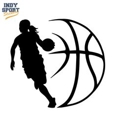 Basketball Player Girl Silhouette with Ball Design Decal – Car Stickers and Decals Basketball Player Girl Silhouette with Ball Design Vinyl Decal or Sticker for your car, window, laptop or any other flat surface Basketball Shirt Designs, Custom Basketball, Basketball Design, Basketball Quotes, Basketball Pictures, Basketball Shirts, Sports Basketball, Basketball Players, Coaching Volleyball