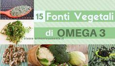 Gli alimenti ricchi di omega 3 sono tanti. Ecco le migliori fonti vegetali di Omega 3 come semi di lino, olio di lino, noci, portulaca, semi di chia, canapa