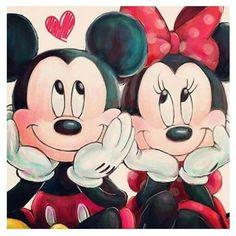 Mickey und Minnie (Mickey Mouse) (c) Dis … - Disney Liebe Mickey Minnie Mouse, Minnie Mouse Drawing, Mickey Mouse Kunst, Mickey Mouse Y Amigos, Mickey Mouse Drawings, Mickey And Minnie Love, Mickey Mouse Wallpaper, Cute Disney Wallpaper, Mickey Mouse And Friends