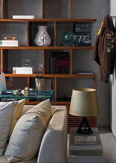 Real Parque Loft by Diego Revollo #design #interior #loft #apartment #concrete #modern #urban #bachelor