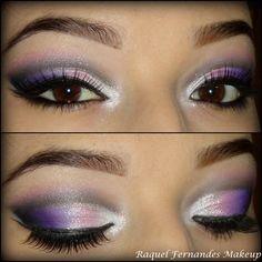 make up // maquiagem #rosa #rocha #preta
