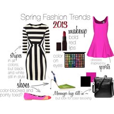 """Spring Fashion Trends 2013"" by suzanne-v-wittman on Polyvore"