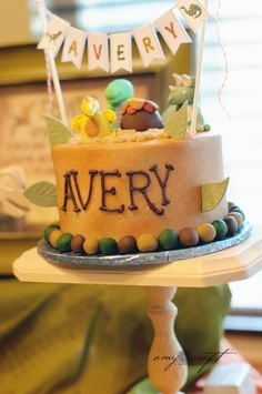 Rustic Dinosaur Twins Birthday Party - Kara's Party Ideas - The Place for All Things Party