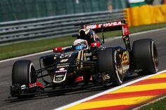 2015 GP Belgii (Romain Grosjean) Lotus E23 Hybrid - Mercedes