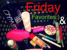 Friday Favorites & Flopps | Lorac | Pink Sugar| Rimmel & Many More - YouTube