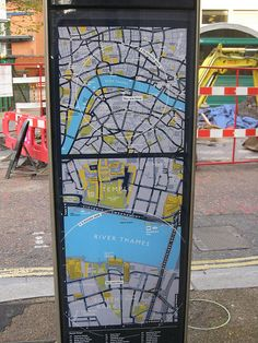 Legible London - Urban Wayfinding Map via Andy Allan