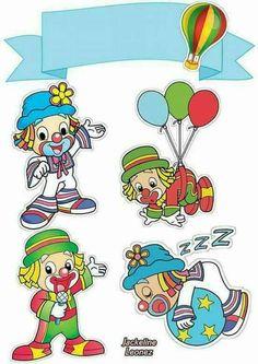 Niver Paw Patrol Birthday, Boy Birthday, Baby Cards, Kids Cards, Clown Crafts, Cute Clown, Christmas Carnival, Carnival Themes, Cute Clipart