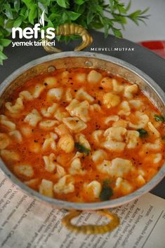 Ravioli Soup (Very Practical) – Yummy Recipes - Herzhaft Yummy Recipes, Kale Soup Recipes, Yummy Food, Turkish Recipes, Greek Recipes, Ethnic Recipes, Ravioli Soup, Comida India, Easy Chicken And Rice