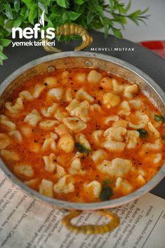 Ravioli Soup (Very Practical) – Yummy Recipes - Herzhaft Sicilian Recipes, Turkish Recipes, Greek Recipes, Ethnic Recipes, Yummy Recipes, Kale Soup Recipes, Yummy Food, Ravioli Soup, Easy Chicken And Rice