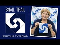 Make a Snail Trail Quilt with Jenny! - YouTube
