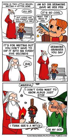 Harry potter lol comic strip