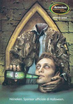Heineken-beer halloween ad 5