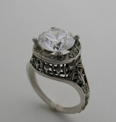 I don't like it as an engagement ring, but it's cute