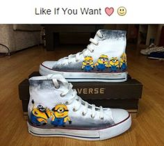 Converse Minion sneakers