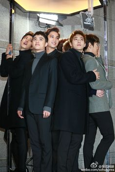 SBS Gayo Daejun 151227 : Red Carpet - EXO ft. Chanyeol, D.O., Kai, Suho, and Baekhyun