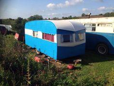 Beautiful Vintage Bluebird Classic Caravan 'Sunparlour' 1957 More