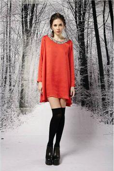 Vestidos de fiesta para usar en el invierno 2015 - http://vestidosglam.com/vestidos-de-fiesta-para-usar-en-el-invierno-2015/