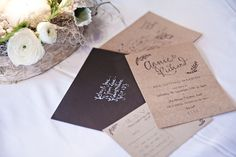 Rustic wedding invites by Gemma Milly / Kerry Ann Duffy Photography