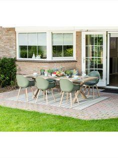 Outdoor Furniture Sets, Outdoor Decor, Garden Design, Home And Garden, Acacia, Dining, Home Decor, Houses, Food