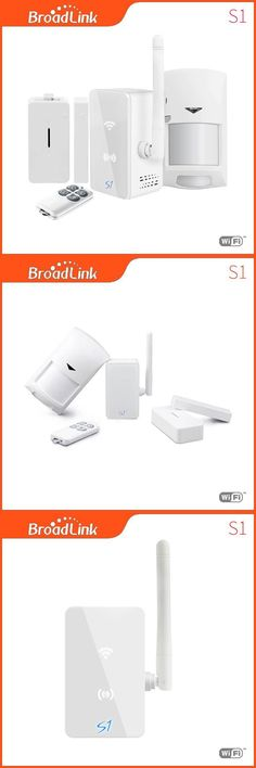 Broadlink S1C accessories,smart home Automation system Security Alarm System Detector Sensor Control for ISO android via 3g/4g