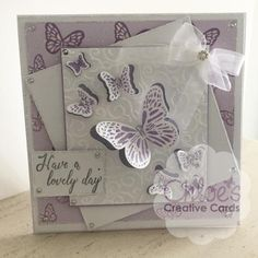 Cut and Emboss by Chloe Folder & Dies Butterfly Trails - - Cut and Emboss by Chloe - Chloes Creative Cards Chloes Creative Cards, Stamps By Chloe, Create And Craft Tv, Craft Stash, Birthday Cards For Women, Cardmaking And Papercraft, Butterfly Cards, Paper Crafts, Paper Art