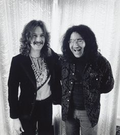 Eric Clapton and Jerry Garcia in San Francisco, 1968. photographed by Jim Marshall
