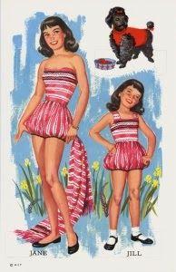 Professione Donna: Paper Doll: Bambole