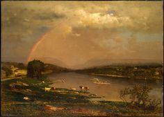 Delaware Water Gap, 1861, George Inness