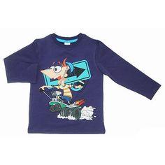 Camiseta sudadera  Phineas & Ferb Disney  Precio: 21.50€