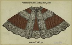 Peterson's May 1863 Melly Cape