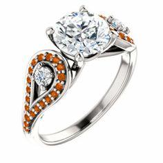 texas longhorns wedding ring