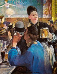 Edouard Manet - Corner of a Cafe Concert, 1880