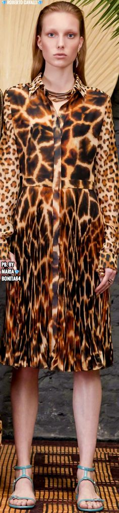 Animal Print Fashion, Roberto Cavalli, Boss, Couture, Woman, Female, Casual, How To Wear, Clothes
