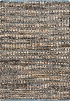 Leather and jute?! Must have...I can't even...this rug is life...