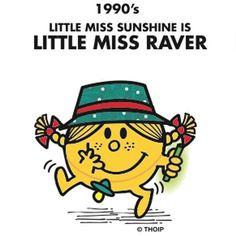 Little Miss Sunshine Has A Birthday Makeover Mr Men