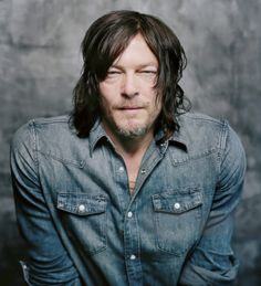 Norman Reedus photographed by Jay L Clendenin for LA Times