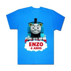 Camiseta Infantil Thomas e Seus Amigos