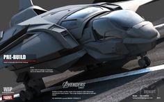 Quinjet-Marvel-The Avenger
