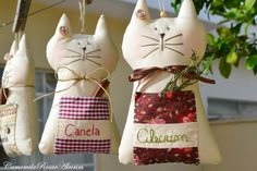 Cat Crafts, Crafts To Do, Fabric Crafts, Sewing Crafts, Dorset Buttons, Patch Quilt, Crochet Home, Felt Animals, Cat Toys