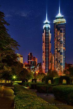 El hotel más alto del mundo en Dubai.