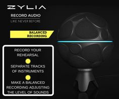ZYLIA ZM-1 microphone for music recording and sound source separation. Unique recorder!